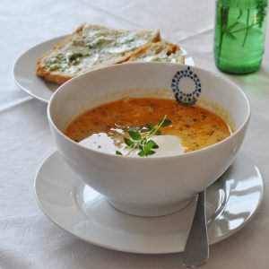 Museets fiskesuppe
